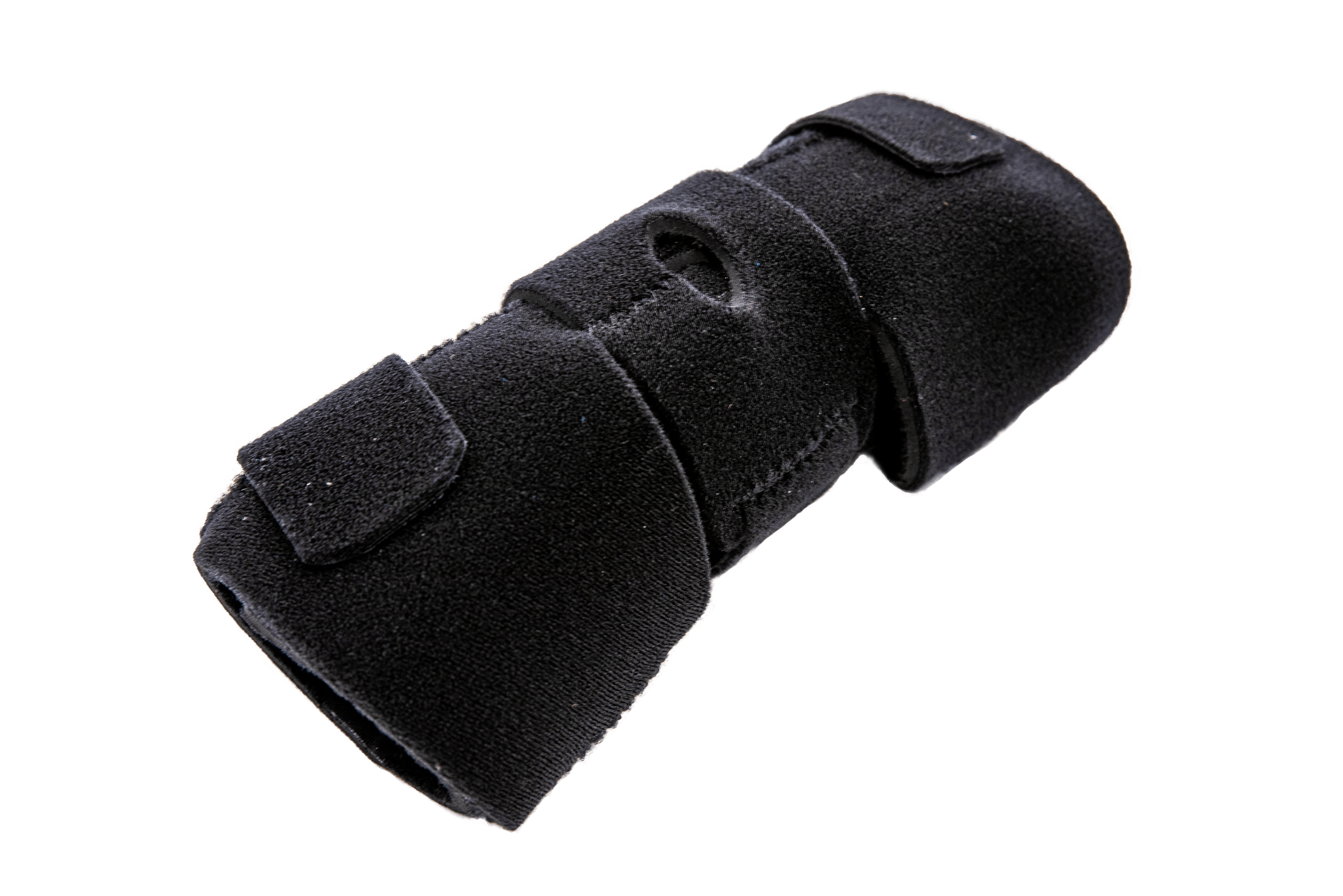 An elbow orthotic.